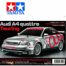 Tamiya Audi A4 Quattro Touring TT-01E 4WD 1//10 Brushless-Edition #300047414BL