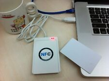 NFC ACR122U RFID Reader Writer + 5 pcs UID Cards + MF Card Clone Software