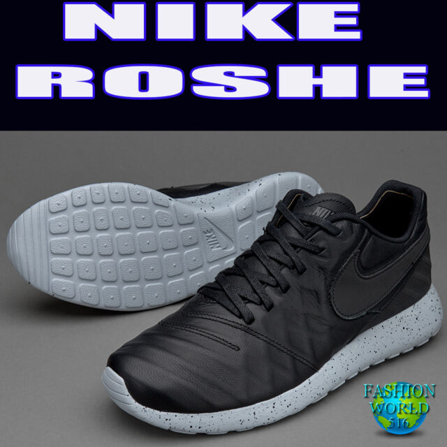 d1d8278529f11 ... Leather  detailed look f658f ab6fc Nike Mens Size 9 Roshe Tiempo VI  Casual Shoes 852615-003