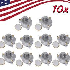 10pcs Dental Lab Equipment Aluminium Denture Flask Compressor Parts Dental Sale