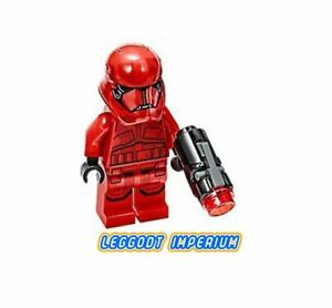 LEGO STAR WARS 75266 RED SITH FIRST ORDER STORM TROOPER MINIFIGURE ** Look MORE