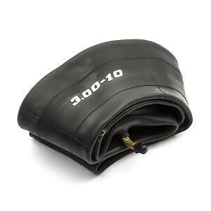"Vespa Lambretta Scooter 3.00-10 INNER TUBE 300-10 Wider Bent Valve 10"" 10 Inch"