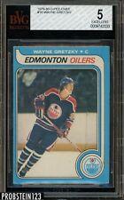"""1979-80 O-Pee-Chee OPC #18 Wayne Gretzky RC Rookie HOF BVG 5 EX """" Pack Fresh """""""