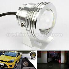 1 Pair Car 15W Round 75mm LED DRL Headlight Driving Fog Safety Head Light Lamp