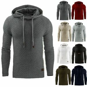 Mens-Fashion-Winter-Hoodie-Warm-Hooded-Sweatshirt-Sweater-Coat-Jacket-Outwear