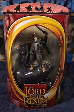 LOTR- SAM IN MORDOR- TOYBIZ- ACTION FIGURE- THE HOBBIT- THE TWO TOWERS