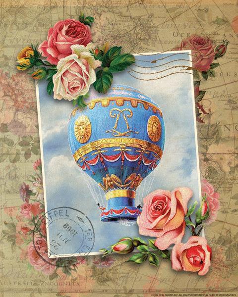 Nobleworks  palloncini palloncini palloncini 8 barella-immagine Schermo heißluft-ballon 691222