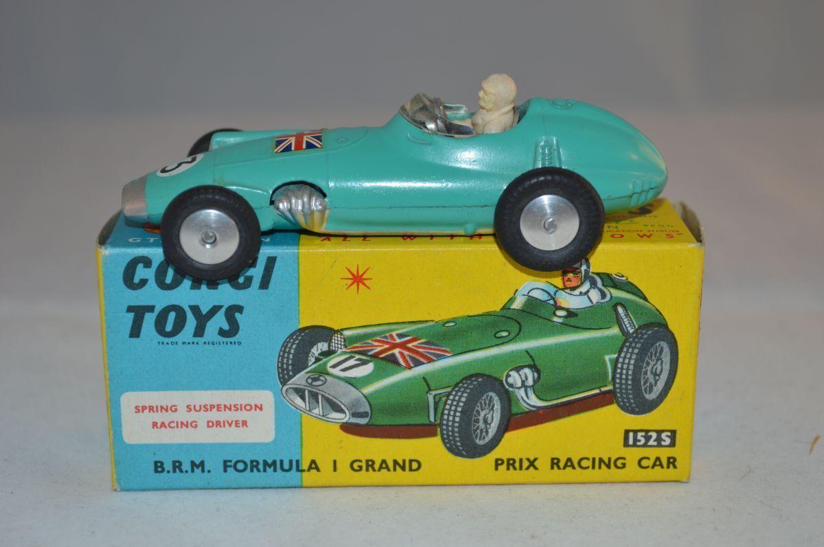 fino al 60% di sconto Corgi Corgi Corgi giocattoli 152S BRM Formula 1 Gre Prix near mint in scatola  prezzi all'ingrosso