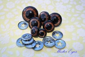24mm Safety Eyes Teddy Bear Eyes Glitter, Amigurumi Accessories ... | 200x300
