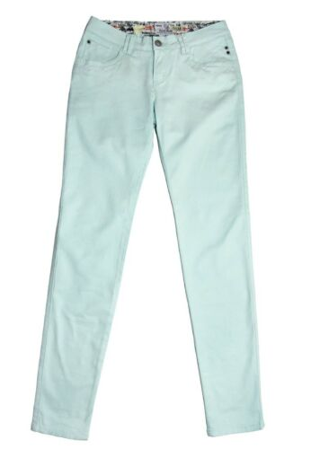 Fresh Made Damen Stretch Hose Jeans ChinoOutdoor Party Freizeit Outfit