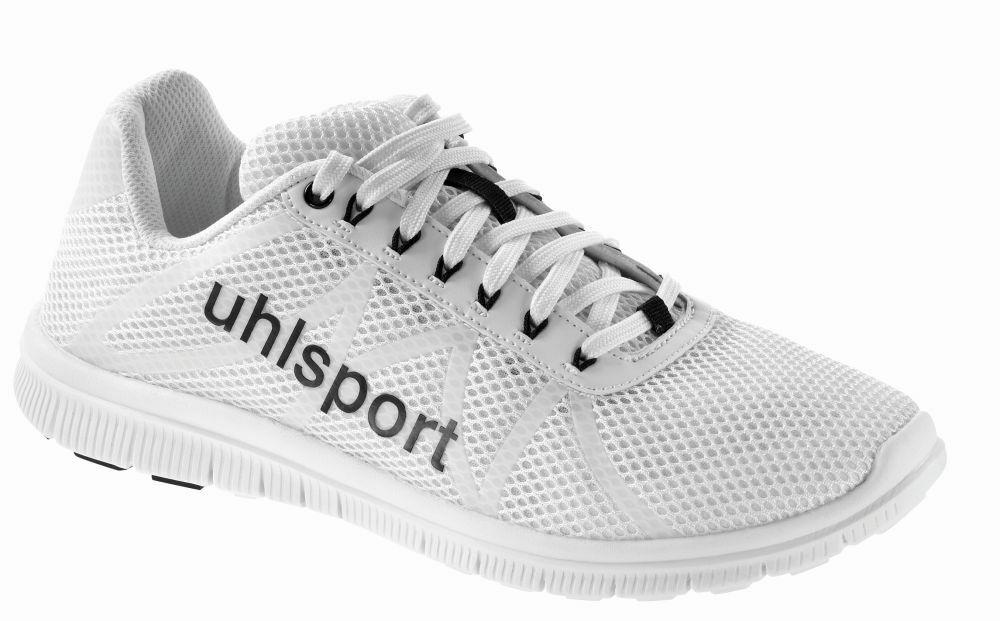 Uhlsport Float Mens Sports Casual Lace Up scarpe Trainers scarpe da ginnastica bianca