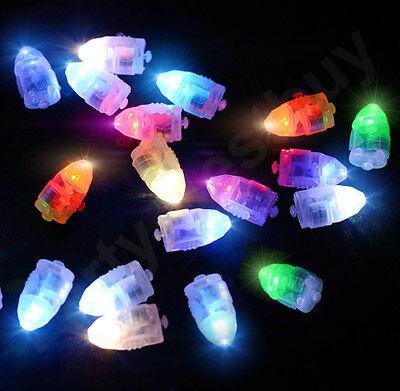 New 50 LED Balloon Lights 6 Colours Lantern Light up Lamp Balloons Glow in dark