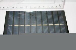 1-Watt-Solarmodul-Solarpanel-Solarplatte-fuer-Lehre-Schule-Solar-Modellbau