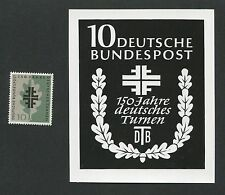 BUND FOTO-ESSAY 292 TURNEN 1958 ENTWURF GYMNASTICS PHOTO-ESSAY PROOF RARE!! e525