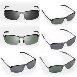 Homme-UV400-polarise-Voiture-Sport-Exterieur-Sport-Lunettes-de-soleil