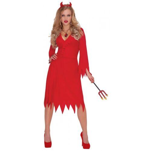 Devil Costume Adult Halloween Fancy Dress
