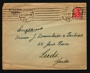 Germany-1933-4M-Germania-On-Cover-Z15659