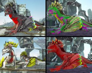 Ark Survival Evolved Xbox One PvE Event Rock Drake w/Saddle (1 Per Quantity)