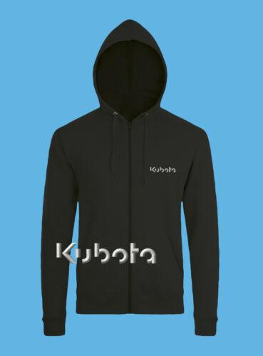 Kubota Sweat à capuche brodé tracteur Logo Sweat-shirt homme agriculture Pelle
