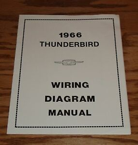 1966 ford thunderbird wiring diagram manual 1966 ford thunderbird wiring diagram manual 66 | ebay 59 thunderbird ford thunderbird wiring diagram