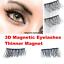 New-Magnetic-Natural-False-Eyelashes-Eye-Lashes-Extension-Handmade-1-Pair-3D thumbnail 2