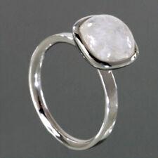 925 ECHT SILBER *** Mondstein Ring Gr. 55 (17,5)