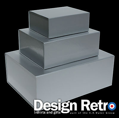 MAGNETIC GIFT BOXES, SOLID GIFT BOXES WITH HINGED LID, IDEAL KEEPSAKE OR HAMPERS
