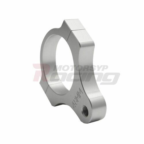 Universal Motorcycle Steering Damper Fork Frame Mounting Clamp Bracket 1 Thread