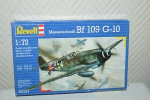 MAQUETTE-AVION-MESSERSCHMIDT-BF-109-G-10-REVELL-PLANE-PLANO-NEUF-1-72-MODEL-KIT
