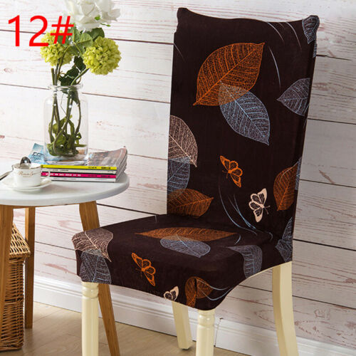 Stretch Spandex Chair Cover Slipcovers Seat Cover Removable Dining Polyester Hot