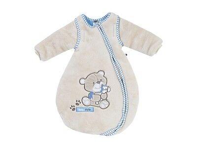 """Jacky Baby Schlafsack /""""Bear/"""" wattiert beige mit abnehmb 50//56-86//92 Ärmel Gr"""