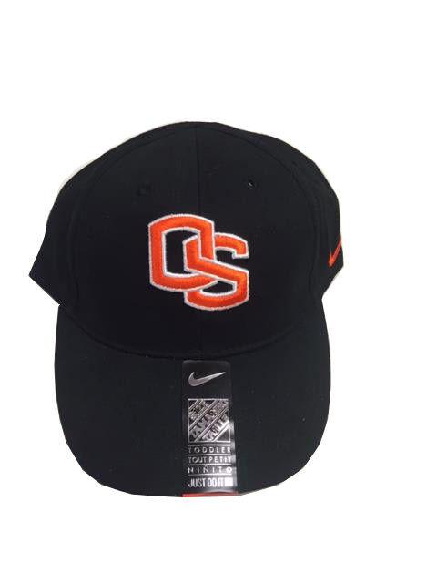 0aded667d ... low price ncaa nike oregon state beavers baseball sports cap black hat  os logo symbol 2t