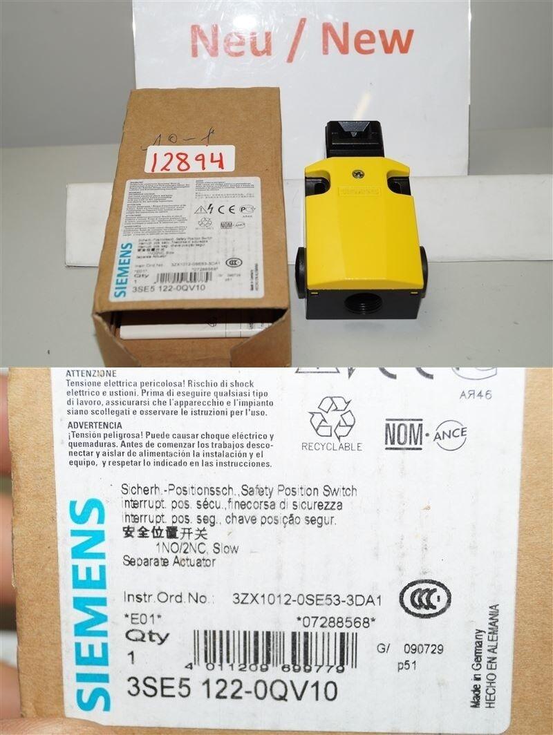 Siemens 3SE5122-0QV10 Sicherheits-Positsionschalter mit getrenntem Betätiger