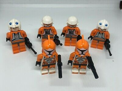 Not made by Lego Star Wars Minifigures Bomb Squad Clone Trooper Minifigure Lot