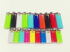 10 REGULAR BIC and 10 MINI BIC LIGHTERS ASSORTED COLORS FLUID NOT REFILLABLE