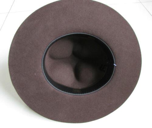 Brown Felt Men/'s//Woman/'s Hat Hot Canada Canadian Mountie Ranger Hat