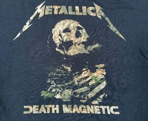 Metallica-World-Magnetic-Tour-2008-2010-Concert-Tee-Size-L