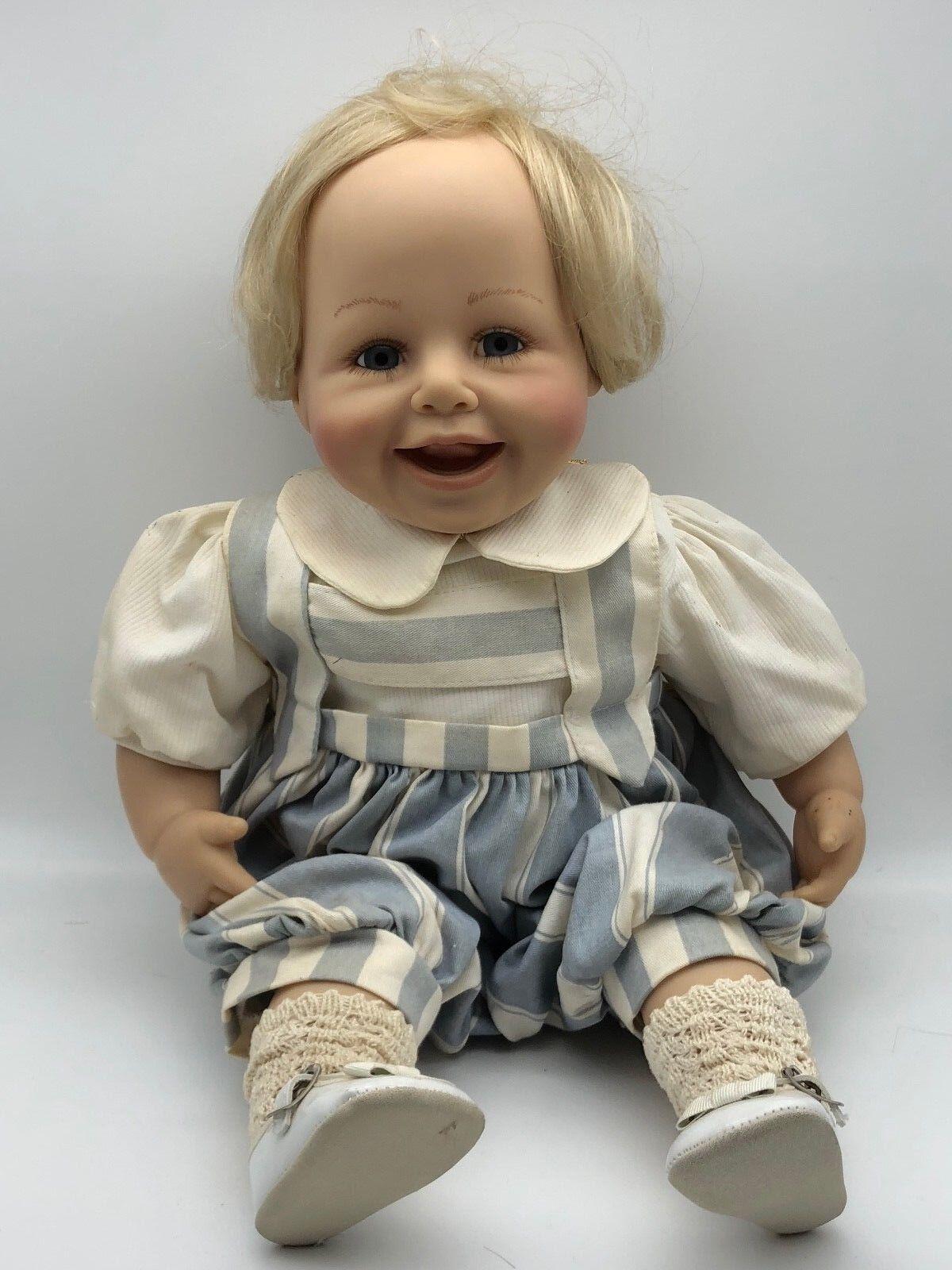 Brigitte leman muñeca de vinilo 52 cm. top estado