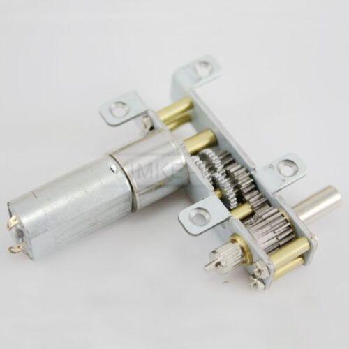 12V DC 60RPM Torque Gear Box Electric Motor For ROBOT