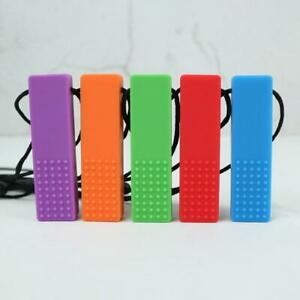 Chewing-Brick-Sensory-Chew-Silicone-Necklace-Pendant-BPA-Free-Autism-ADHD