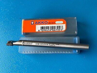 Wendschneidplatte K Bohrstange S10K-SCLCR06 Tech CCGT 060204FN-ALU CNC