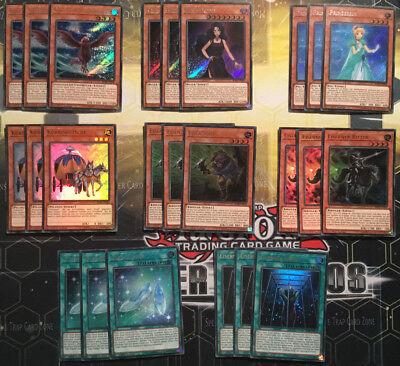 schicksalsfee Set Yu-Gi-Oh Pont-Core 9 cartes ultra rare BLHR-De Allemand