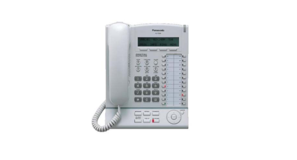 MwSt. Panasonic KX-T7633 Systemtelefon schwarz optischer Mangel inkl