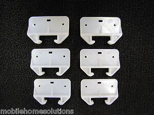 Mobile Home RV Parts Replacement Drawer Guides. 6 to a Pack