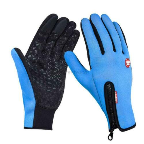 Men Women Insulated Gloves Outdoor Warm Thermal Riding Skiing Waterproof US