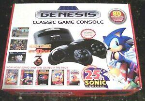 sega genesis plug and play 80 games