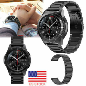 Stainless-Steel-Watch-Strap-Band-Bracelet-For-Samsung-Gear-S3-Frontier-Classic