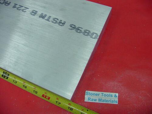 """1/""""x 8/""""x 18/"""" ALUMINUM 6061 FLAT BAR T6511 SOLID 1.000/"""" New Plate Mill Stock"""