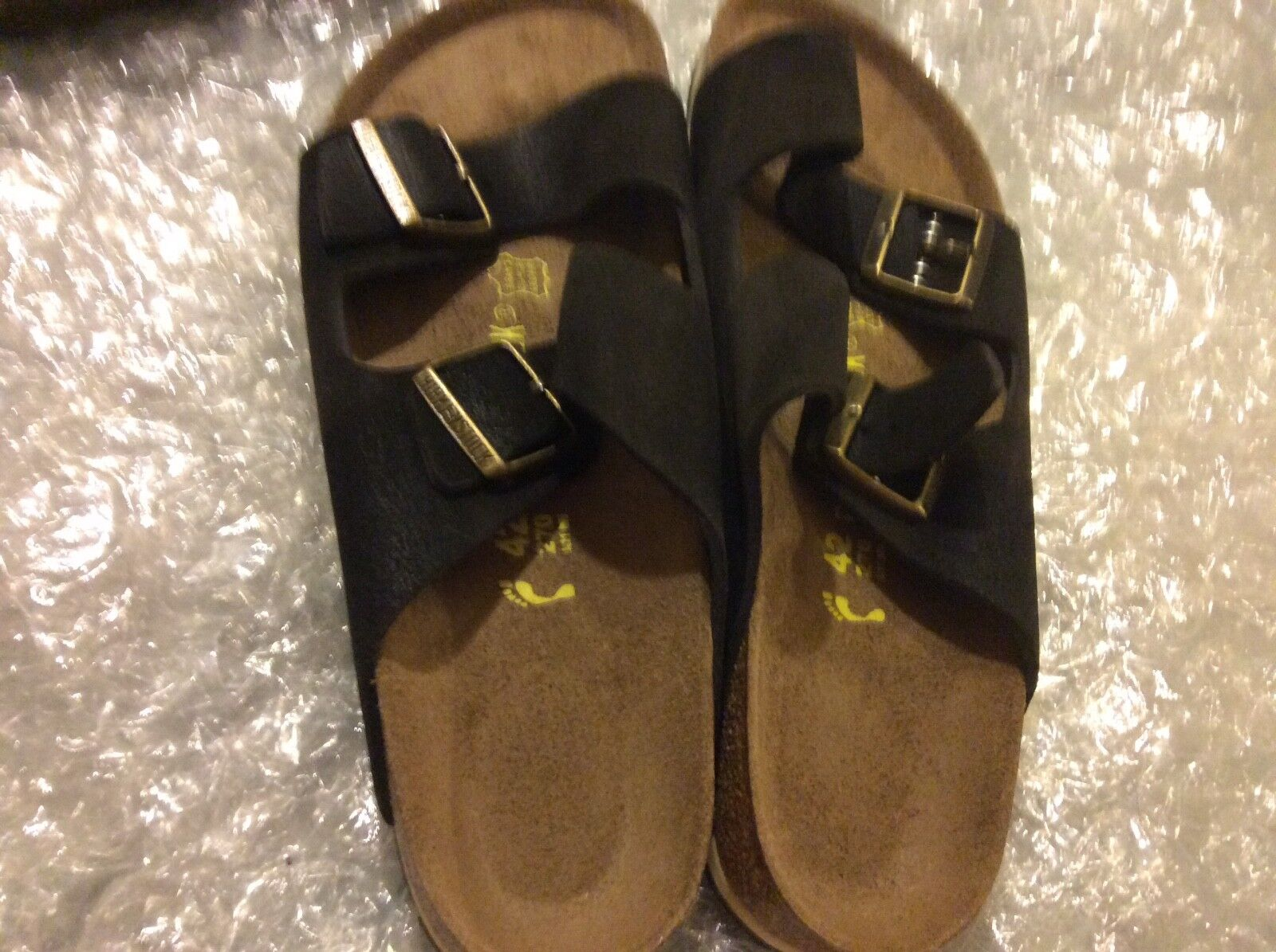 BIRKENSTOCK ARIZONA BLACK Damens'S 42 U.S.11N MEN'S 9N EU 42 Damens'S 20177b