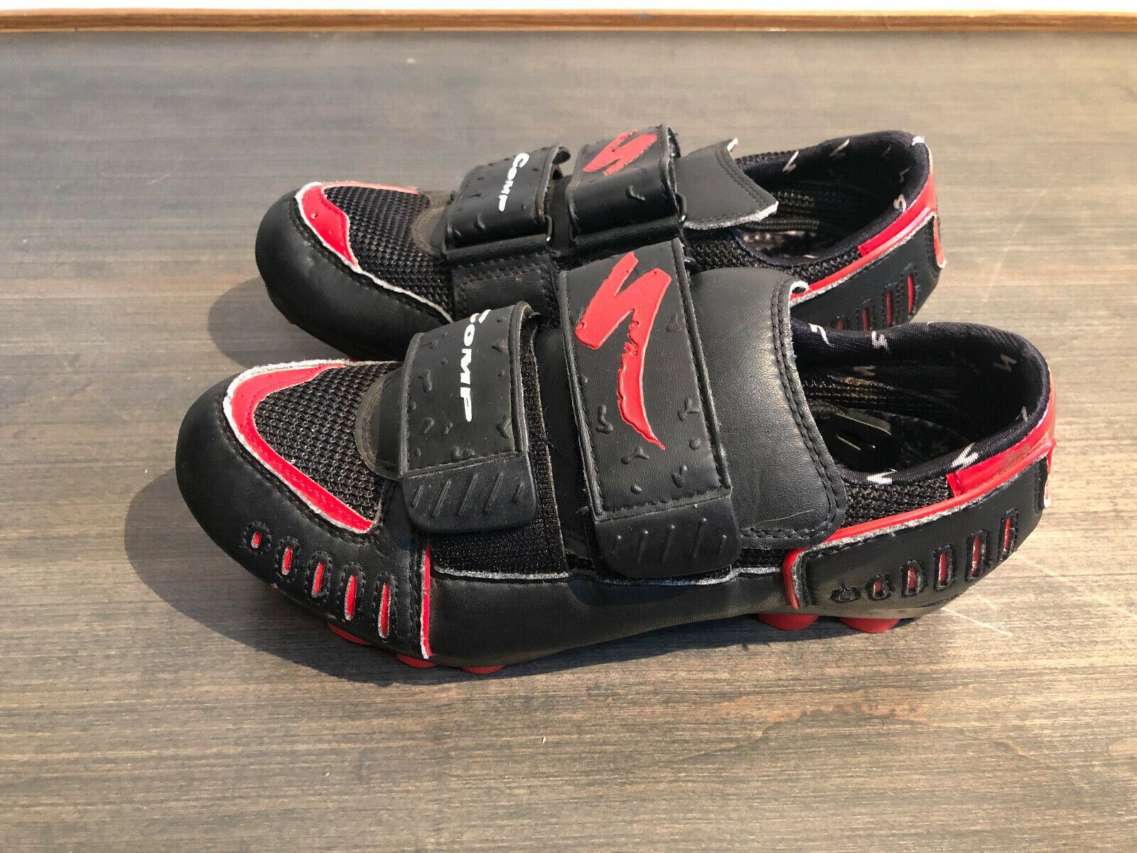 Sie's Specialized Comp MTB Schuhe und US Sie's 7 für SPD Clips Cleats
